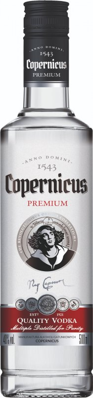 COPERNICUS PREMIUM VODKA 2018 500ML